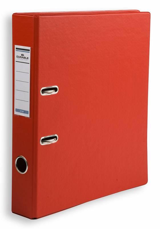 Папка-регистратор Durable 3120-03, A4, цвет: красный папка регистратор rainbow a4