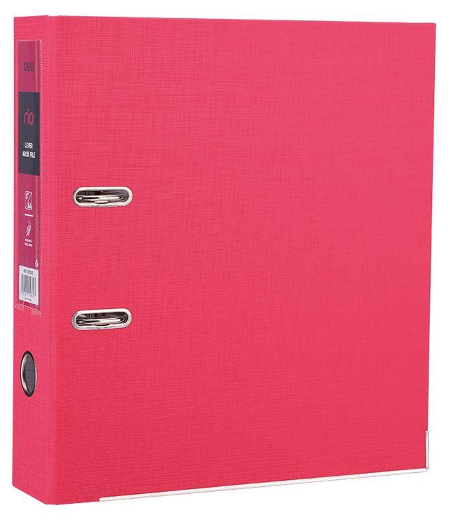 Папка-регистратор Deli EB20140, A4, цвет: красный папка регистратор rainbow a4