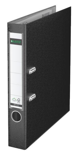 Папка-регистратор Esselte, формат A4, цвет: черный папка вкладыш esselte 56171