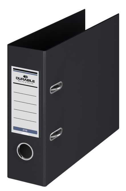 Папка-регистратор Durable, формат A5, цвет: черный
