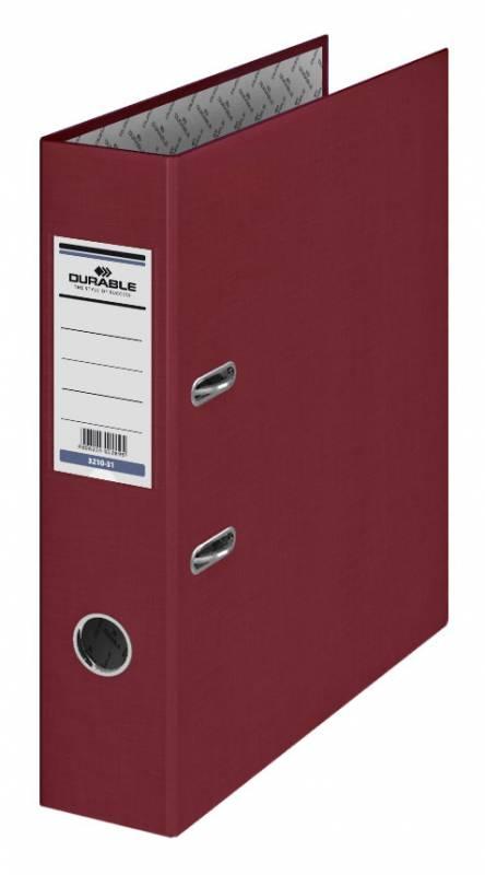 Папка-регистратор Durable, формат A4 , цвет: бордовый папка регистратор rainbow a4