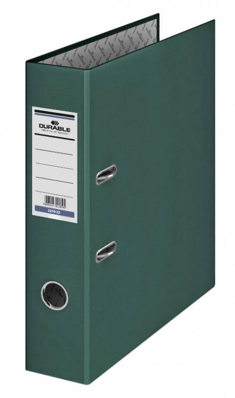 Папка-регистратор Durable, формат A4 , цвет: темно-зеленый папка регистратор rainbow a4
