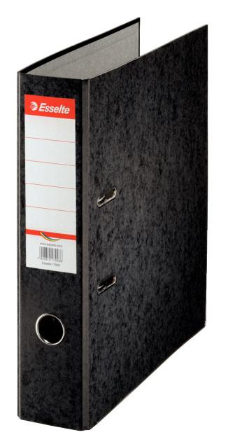 Папка-регистратор Esselte, цвет: черный, A4 папка регистратор rainbow a4