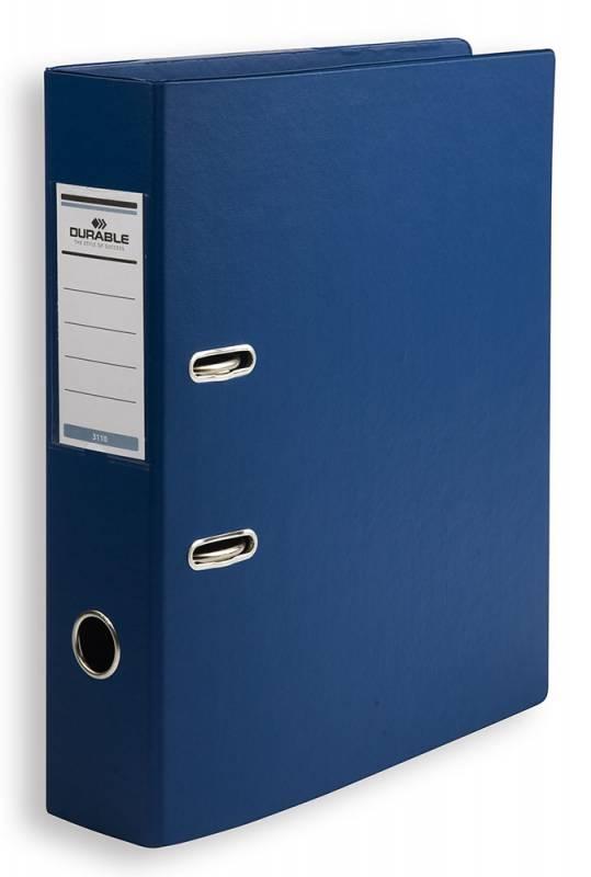 Папка-регистратор Durable, формат A4 , цвет: синий папка регистратор rainbow a4