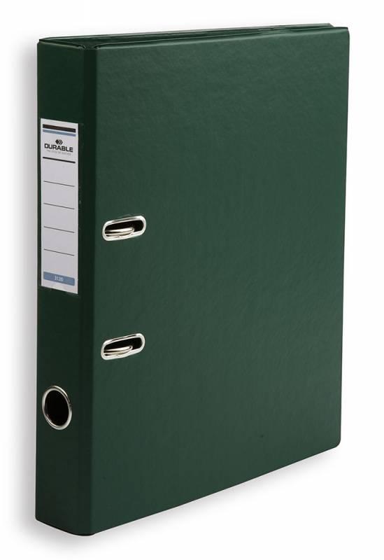 Папка-регистратор Durable, формат A4, цвет: темно-зеленый папка регистратор rainbow a4