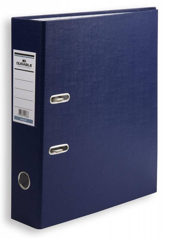 Папка-регистратор Durable, формат A4, цвет: синий папка регистратор rainbow a4