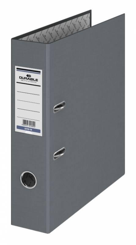 Папка-регистратор Durable, формат A4, цвет: серый