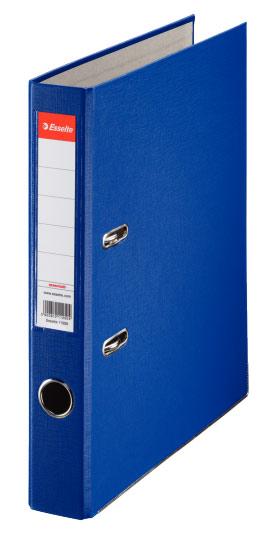 Папка-регистратор Esselte, формат A4, цвет: синий папка регистратор rainbow a4