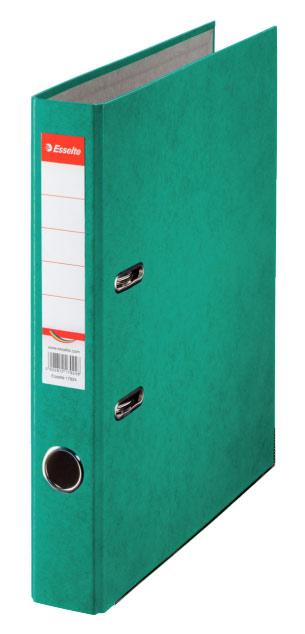 Папка-регистратор Esselte, формат A4, цвет: зеленый папка регистратор rainbow a4