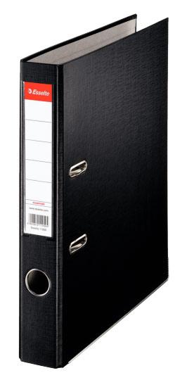 Папка-регистратор Esselte, цвет: черный, А4 папка уголок esselte 150 мкм глянцевые синие цена за штуку