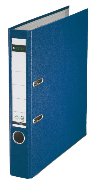 Папка-регистратор Esselte, цвет: синий, А4 папка регистратор rainbow a4