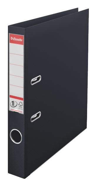 цена Папка-регистратор Esselte №1 Power 811470P, A4 50 мм, пластик, цвет: черный онлайн в 2017 году