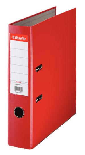 Папка-регистратор Esselte Economy 11253P, A4, 75 мм, цвет: красный папка регистратор rainbow a4