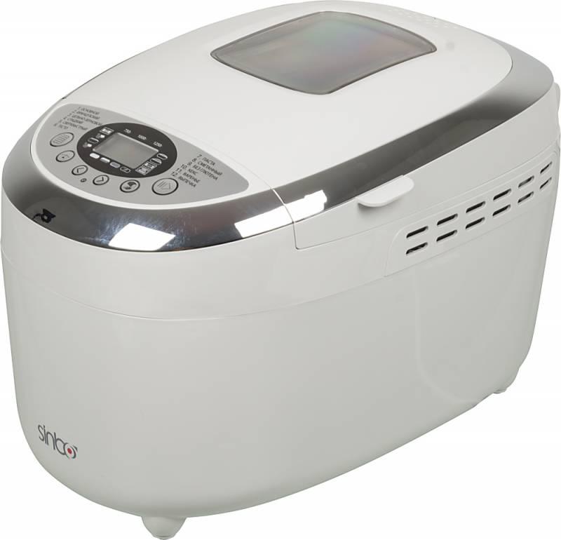 Хлебопечь Sinbo SBM 4718 850Вт, цвет белый обогреватель sinbo sfh 3366 белый