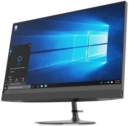 Моноблок Lenovo IdeaCentre 520-22IKU 21.5 Full HD i5 8250U (1.6)/4Gb/1Tb 7.2k/530 2Gb/DVDRW/CR/Windows 10/GbitEth/WiFi/BT/90W/клавиатура/мышь/Cam/черный 1920x1080 lenovo ideapad 300 15isk [80q701k1rk] silver 15 6 hd i5 6200u 8gb 1tb r5 m430 2gb dvdrw w10