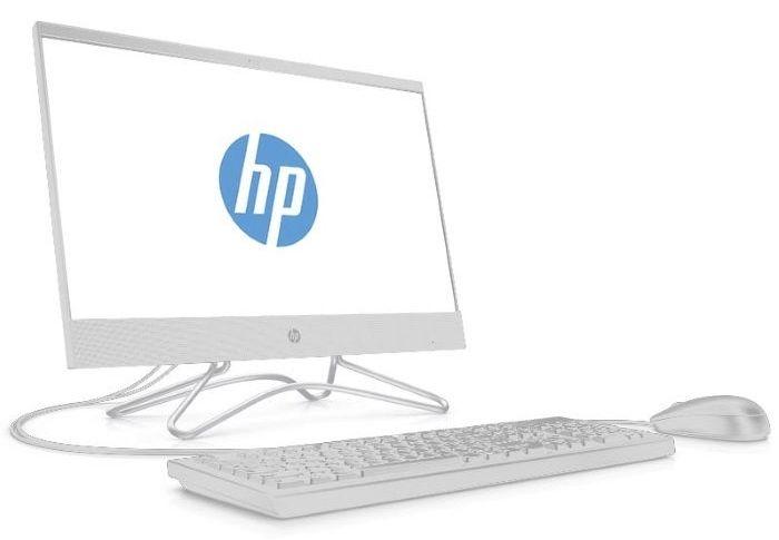 Моноблок HP 200 G3, 3ZD35EA, 21.5, белый неттоп hp 260 g2 mini i3 6100u 2 3 4gb ssd256gb hdg520 windows 10 professional 64 wifi bt 65w клавиатура мышь черный 2тр12еа