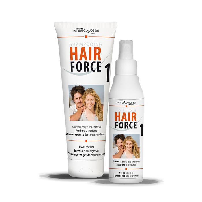 Косметический набор для волос Hair Force One от выпадения волос: шампунь 250 мл и лосьон 150 мл для волос hair заказать