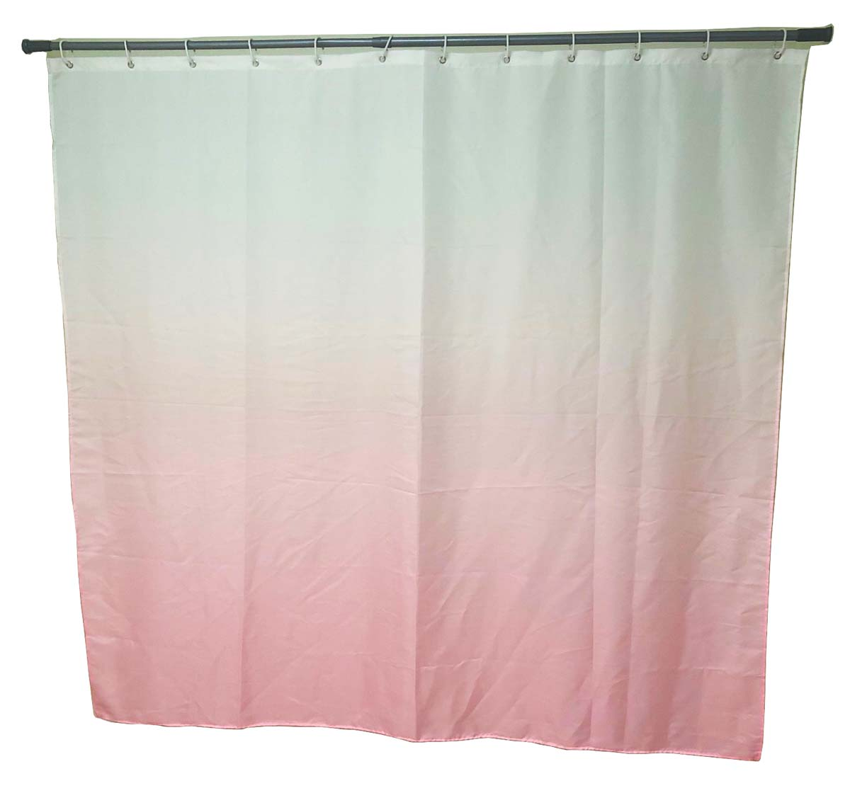 Штора для ванной Swensa Gradient, цвет: розовый, 180 х 180 см штора для ванной swensa бамбук цвет зеленый 180 х 180 см