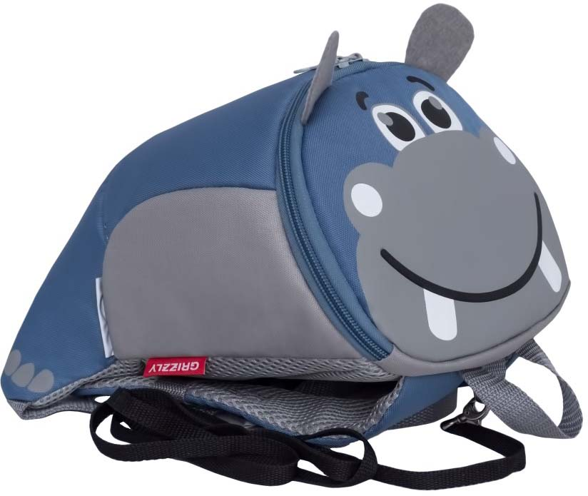 Рюкзак дошкольный Grizzly Бегемот. RS-991-1/3