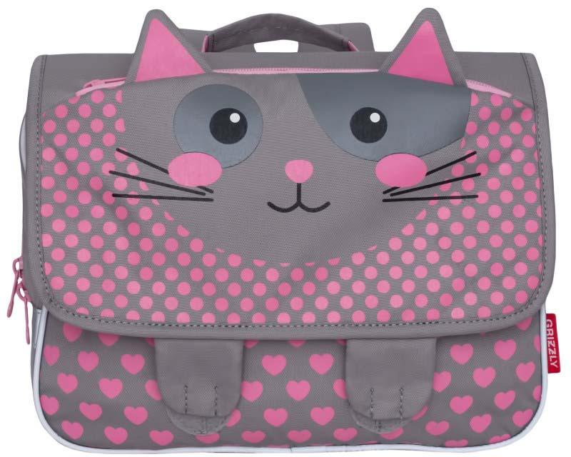 Рюкзак дошкольный Grizzly Кошка. RK-997-2/3