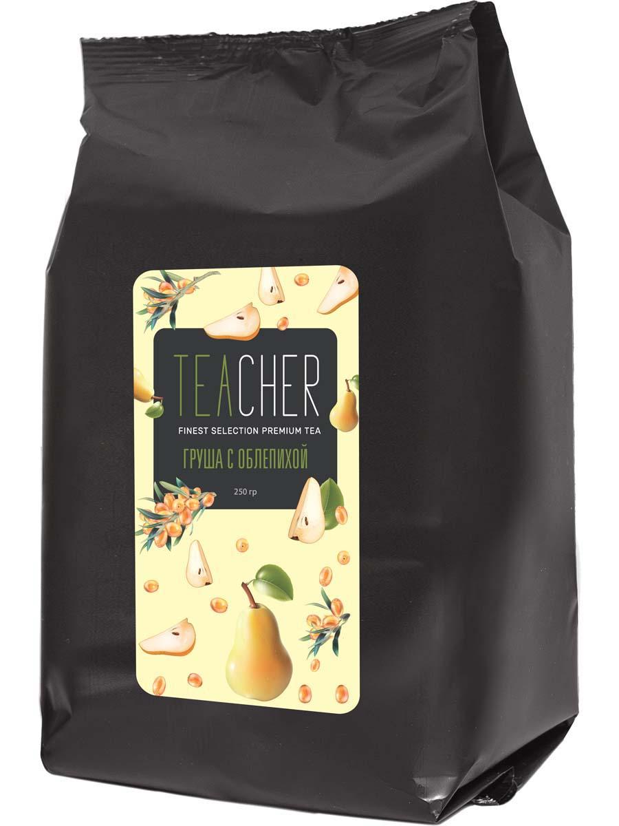 Teacher Облепиха с грушей и османтусом чай листовой, 250 г teacher малиновый рассвет чай листовой 500 г