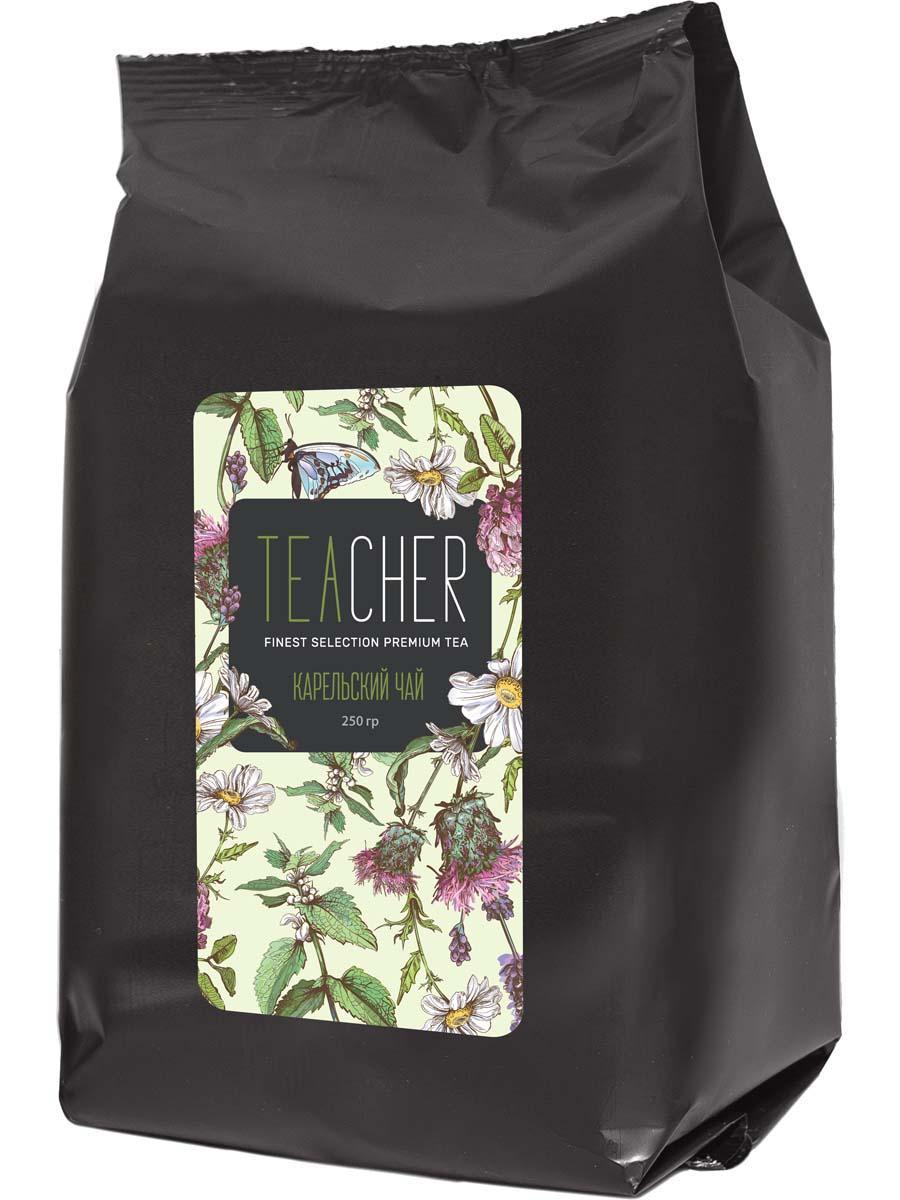 Чай травяной листовой Teacher Карельский, 250 г teacher оранжевое настроение чай листовой 500 г