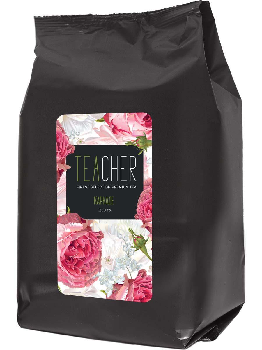 Чай красный листовой Teacher Каркаде, 250 г teacher малиновый рассвет чай листовой 500 г