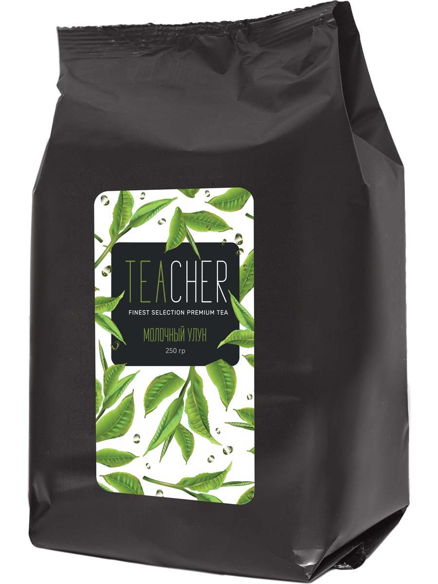 Чай листовой Teacher Молочный улун, 250 г teacher женшеневый улун чай листовой 500 г