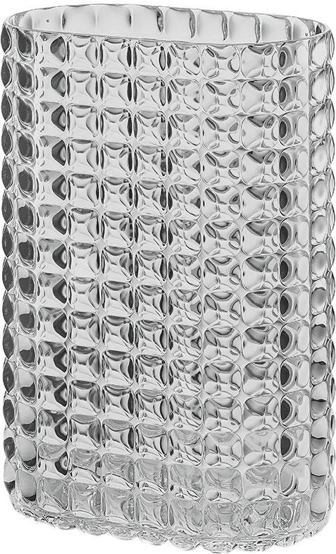 Ваза Guzzini Tiffany, цвет: серый, высота 29 см ваза soto для одного цветка 10х25 5 см