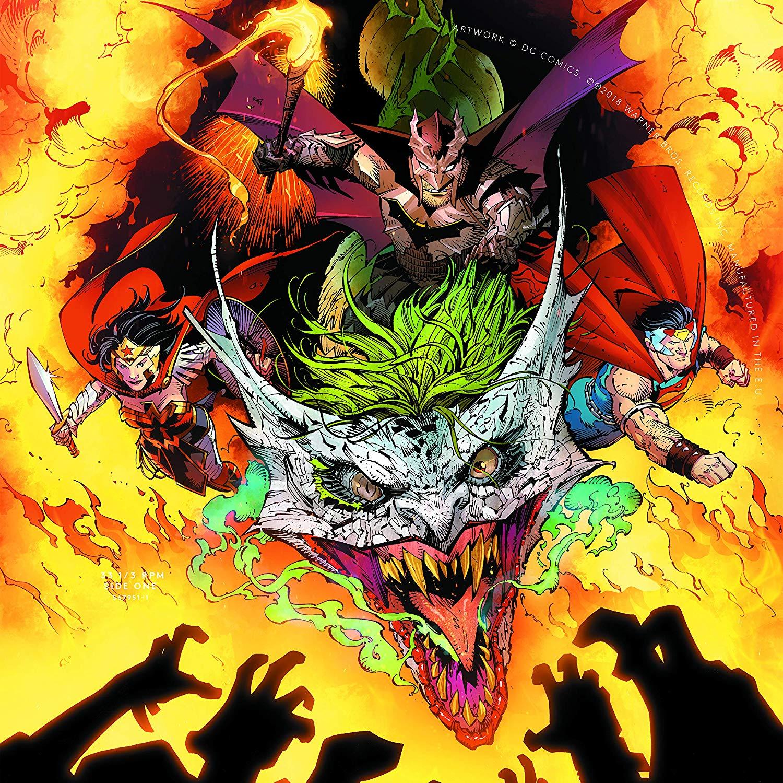 DC's Dark Nights Metal Soundtrack EP (LP) symphonic metal dark