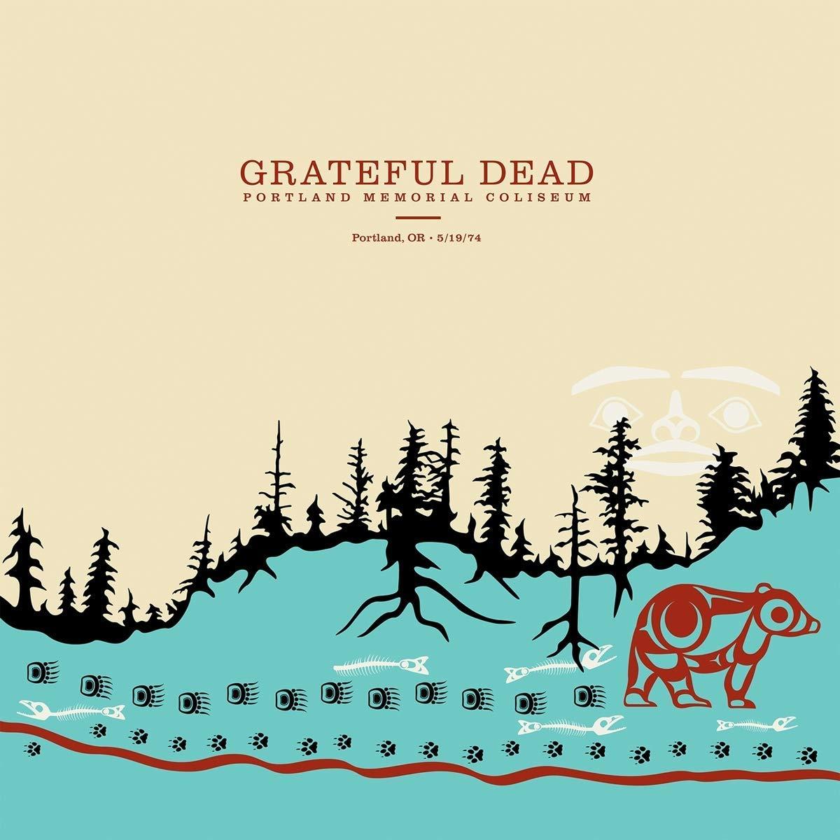 """The Grateful Dead"" Grateful Dead. Portland Memorial Coliseum, Portland, Or, 5 / 19 / 74 (6 LP)"