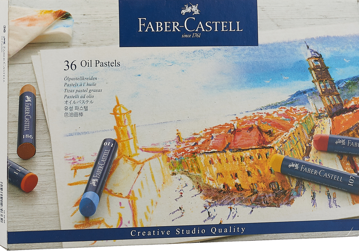 Faber-Castell Масляная пастель Studio Quality Oil Pastels 36 шт цена и фото