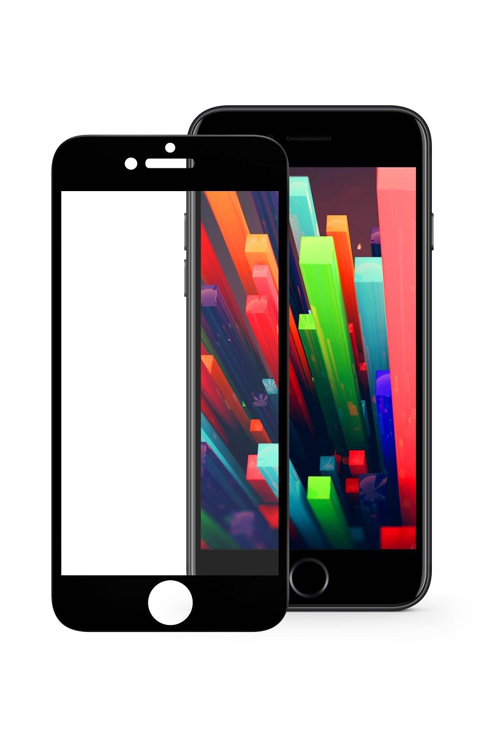 Защитное стекло Mobius Apple iPhone 6/6S, черный