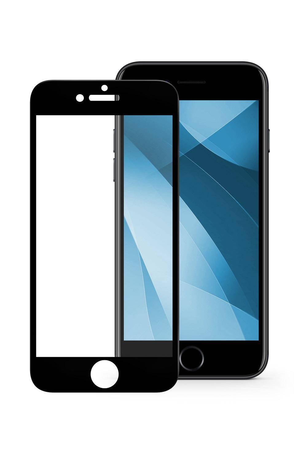 Защитное стекло Mobius Apple iPhone 7/8, черный защитное стекло mobius apple iphone 7 8 черный