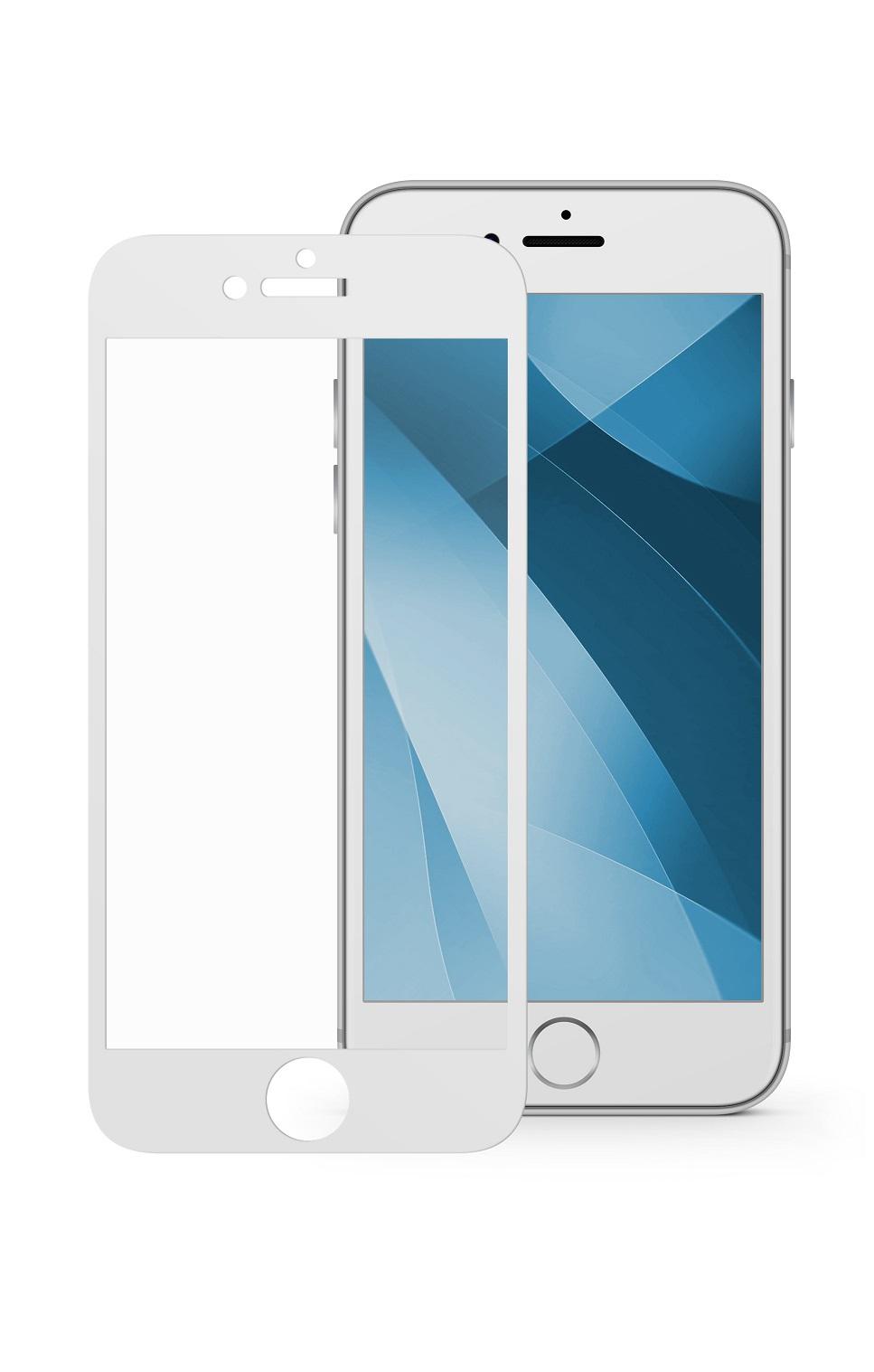 Защитное стекло Mobius Apple iPhone 7/8, белый защитное стекло mobius apple iphone 7 8 черный