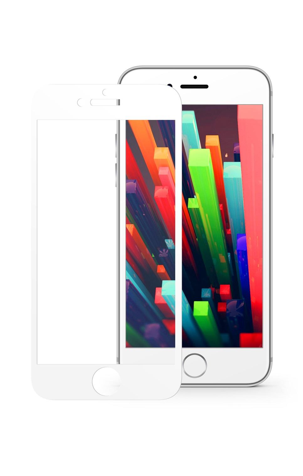 Защитное стекло Mobius Apple iPhone 6/6S, белый