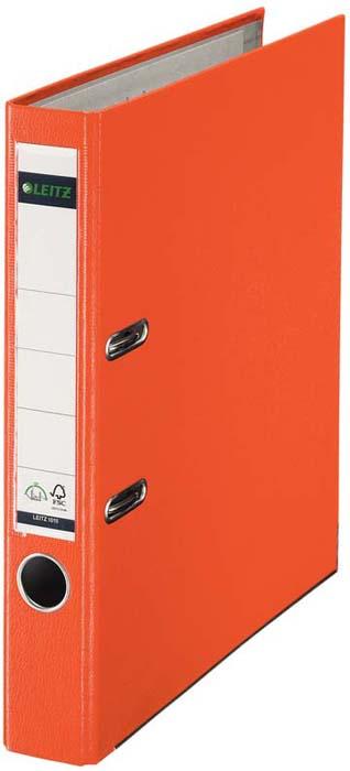 Папка - регистратор Leitz 180°L-1015, цвет: оранжевый