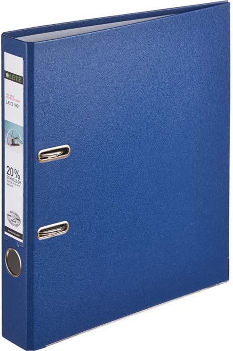 Папка - регистратор Leitz 180°L, цвет: синий