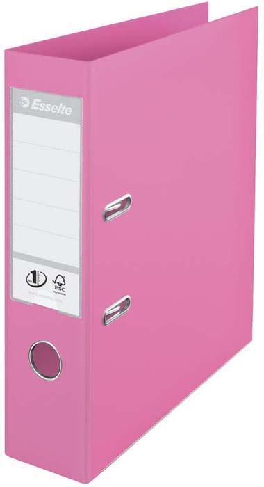 Папка - регистратор Esselte Power Solea, цвет: сиреневый614318Папка-регистратор Esselte Power Solea сиреневого цвета. Высококачественная, долговечная папка-регистратор в пастельных тонах вместимостью 500 листов A4 (80 г/кв.м) для использования дома и в офисе. Уникальный механизм No.1 обеспечит неизменно точное закрытие и гарантирует надежную фиксацию после 10.000 использований. Дуги и крепления прекрасно держат форму даже тогда, когда папка полностью заполнена. Сменная этикетка на корешке, фиксация обложки, отверстие- захват и металлическая окантовка краев. 3 года гарантии на механизм.