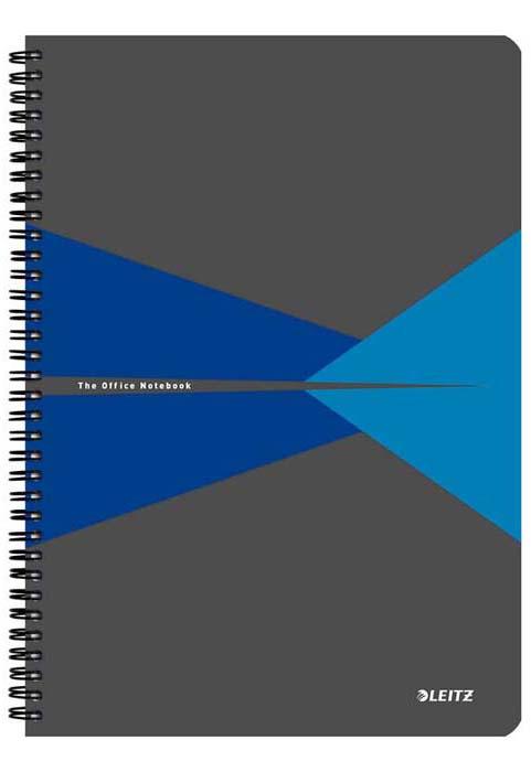 Бизнес-тетрадь Leitz Office, А4, клетка, цвет: синий