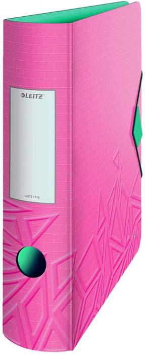 Папка - регистратор Leitz UrbanChic, цвет: розовый