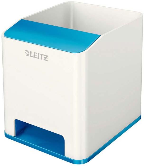 Подставка для канцелярских принадлежностей Leitz WOW, цвет: синий, белый