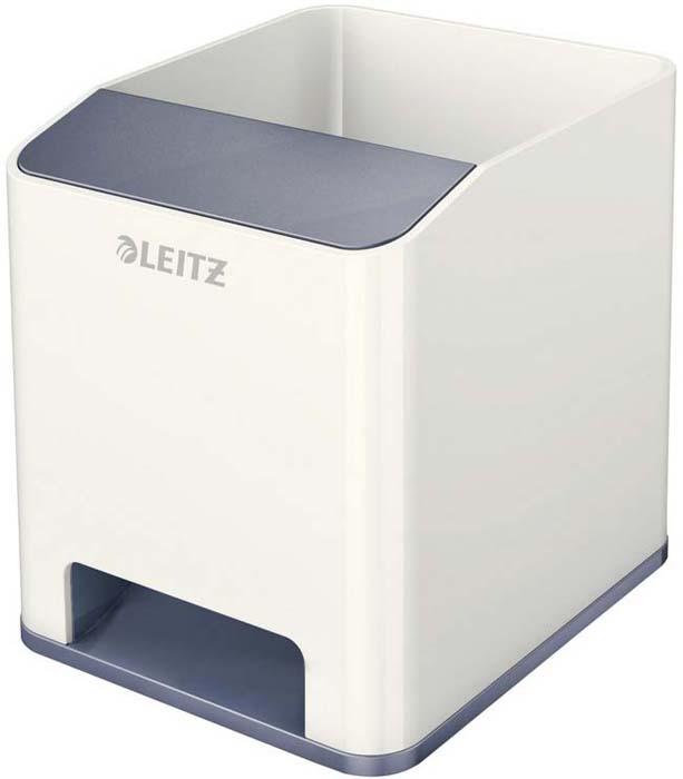 Подставка для канцелярских принадлежностей Leitz WOW, цвет: серый, белый