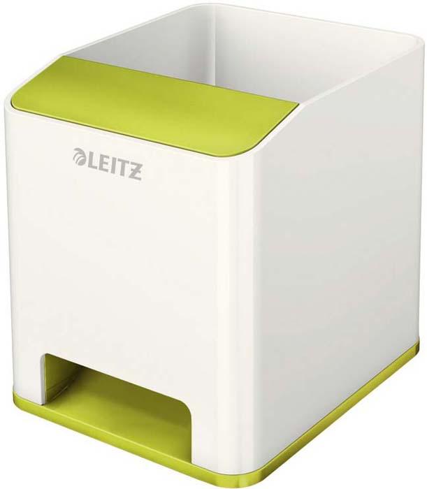 Подставка для канцелярских принадлежностей Leitz WOW, цвет: зеленый, белый