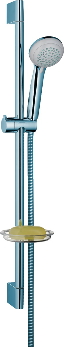 Душевой гарнитур Hansgrohe Crometta, хром, 27764000 душевая лейка hansgrohe crometta 85 vario 28562000