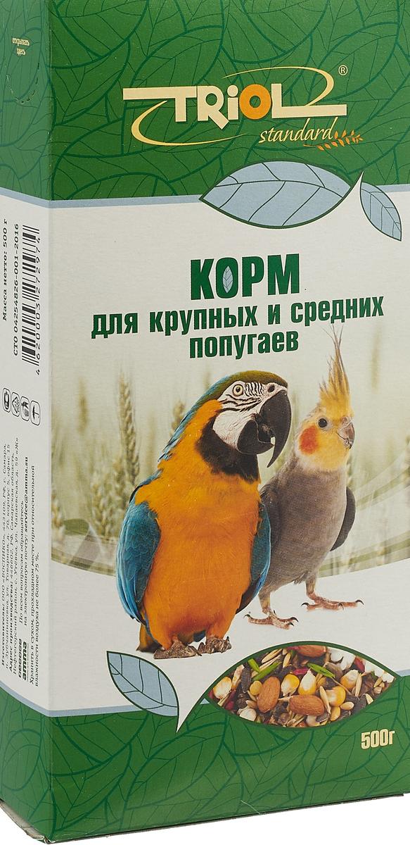 """Корм """"Triol"""" для крупных и средних попугаев , 500 г"""