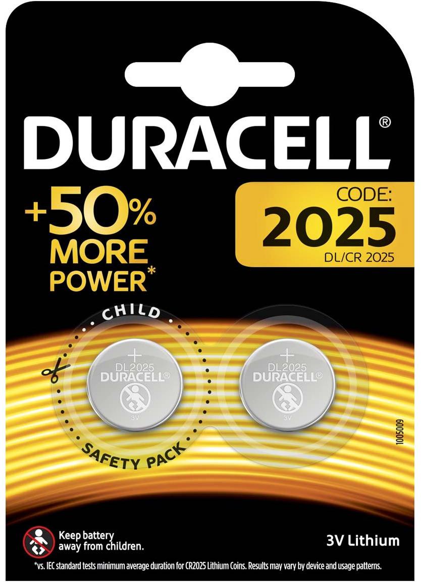Батарейка Duracell CR2025-2BL, 2 шт кисть 2 пони художественная круглая 2 штуки в блистере
