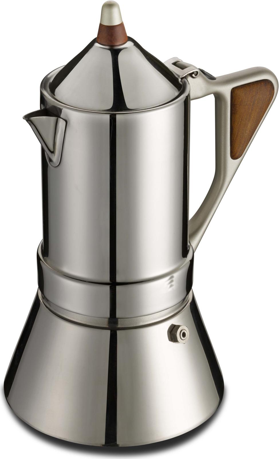 лучшая цена Гейзерная кофеварка Regina, Нержавеющая сталь