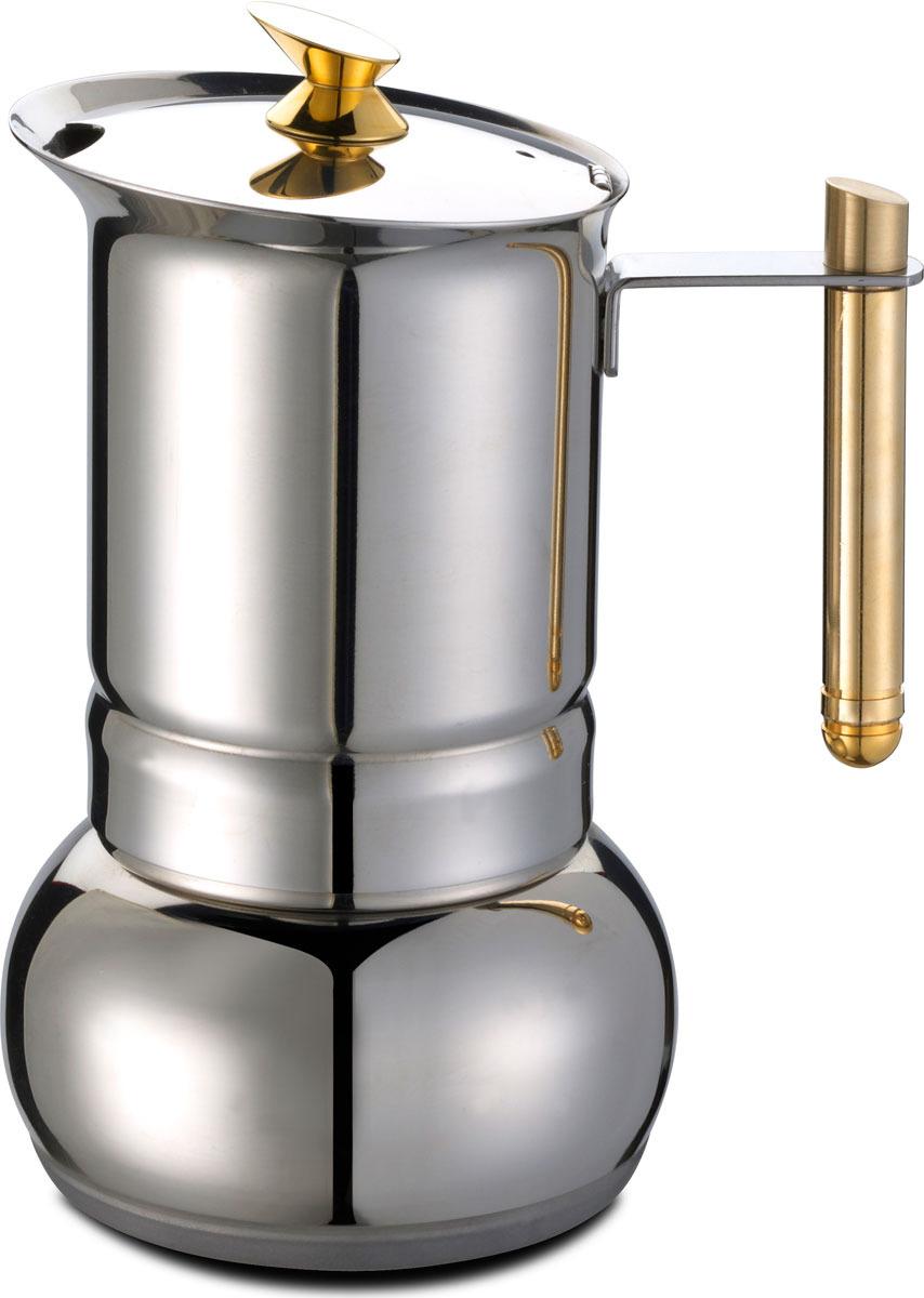 Кофеварка гейзерная G.A.T. Amore, цвет: серебристый, на 4 чашки ролевые игры amore bello детская кофеварка