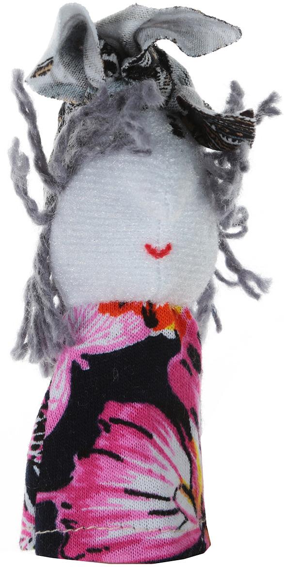 Наивный мир Кукла пальчиковая Баба Яга цвет в ассортименте